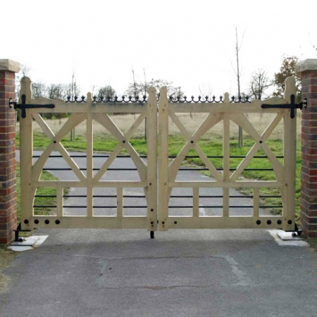 Cheriton Gates from Tate Fencing